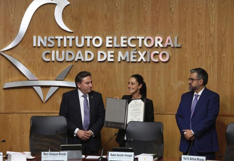 Claudia Sheinbaum recibe constancia de mayoría | El Imparcial de Oaxaca