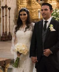 Elegante enlace Karla y Óscar