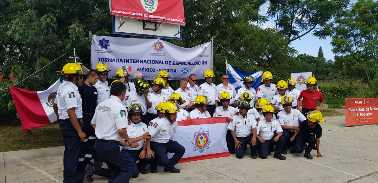 Concluye Jornada de  capacitación a bomberos