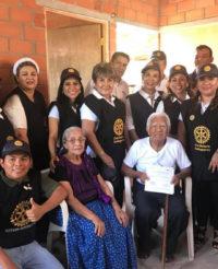 Club Rotario Guelaguetza entrega viviendas