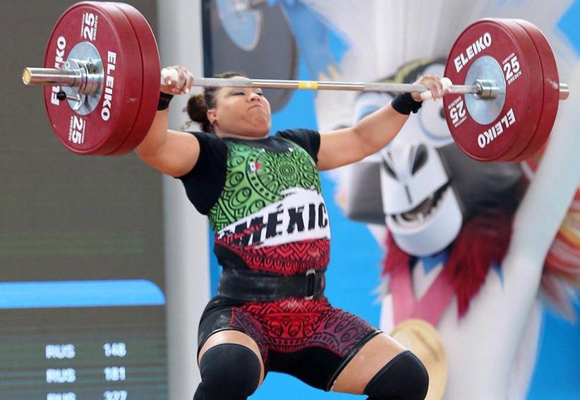 Tania Mascorro gana oro y plata en halterofilia | El Imparcial de Oaxaca
