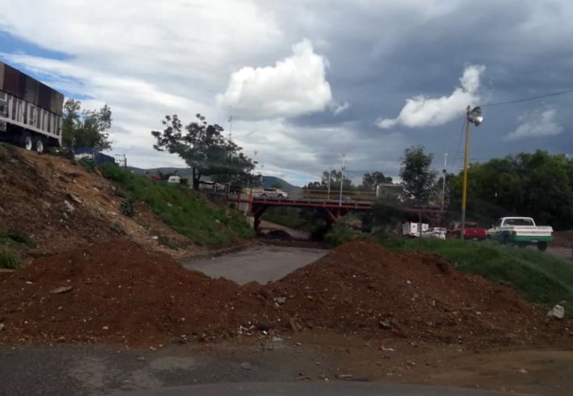 Abandonan obra en Riberas del Atoyac | El Imparcial de Oaxaca