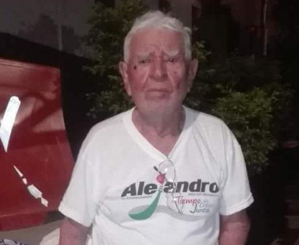 Abuelito perdido en Salina Cruz