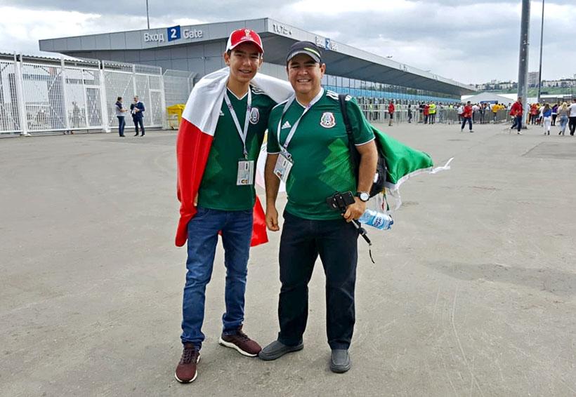 Aficionados mexicanos llegan a Rusia… un poquito tarde | El Imparcial de Oaxaca