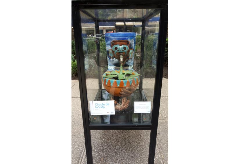 Artistas mixtecos  concientizan sobre el cuidado del agua