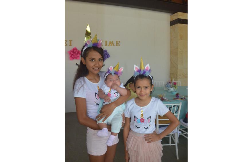 Eileen y Ximena  fueron celebradas por su cumpleaños