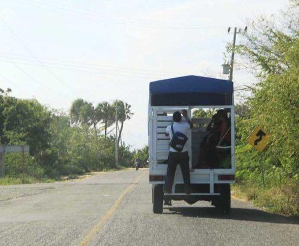 Camionetas de pasaje un riesgo para usuarios del Istmo