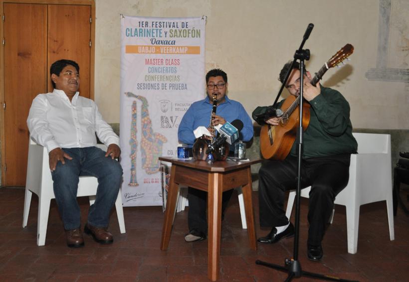 Anuncian primer Festival  del Clarinete y Saxofón en Oaxaca | El Imparcial de Oaxaca