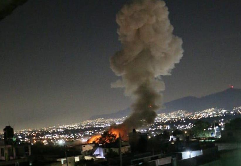 Doce muertos deja explosión en polvorín de Tultepec, Edomex. Noticias en tiempo real