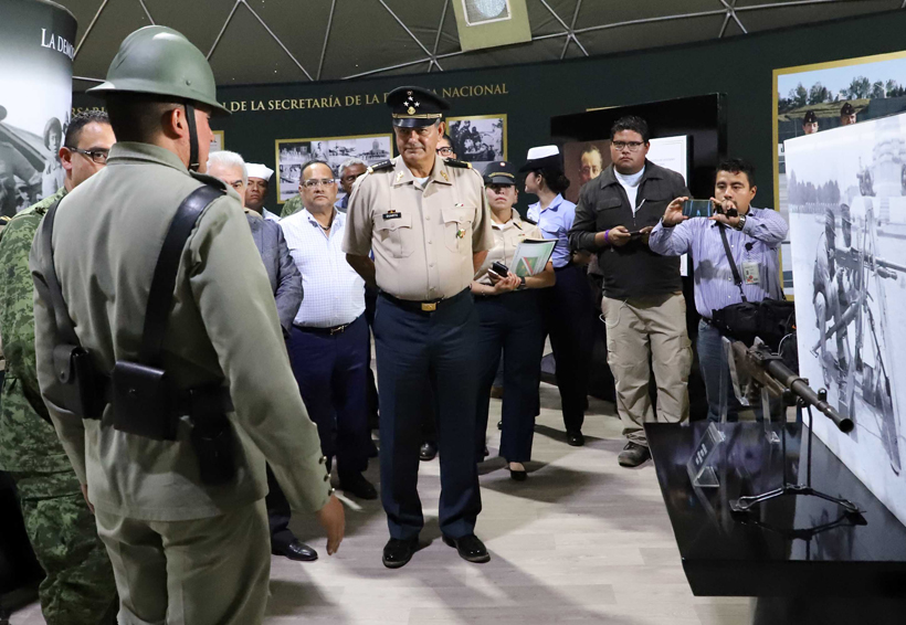Alistan exposición militar en El Tequio | El Imparcial de Oaxaca