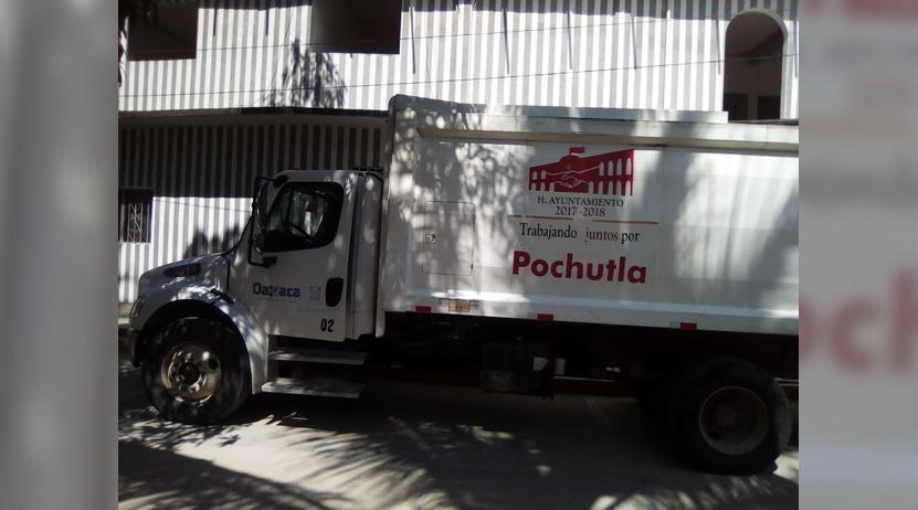 Roban camión recolector de basura en Pochutla | El Imparcial de Oaxaca