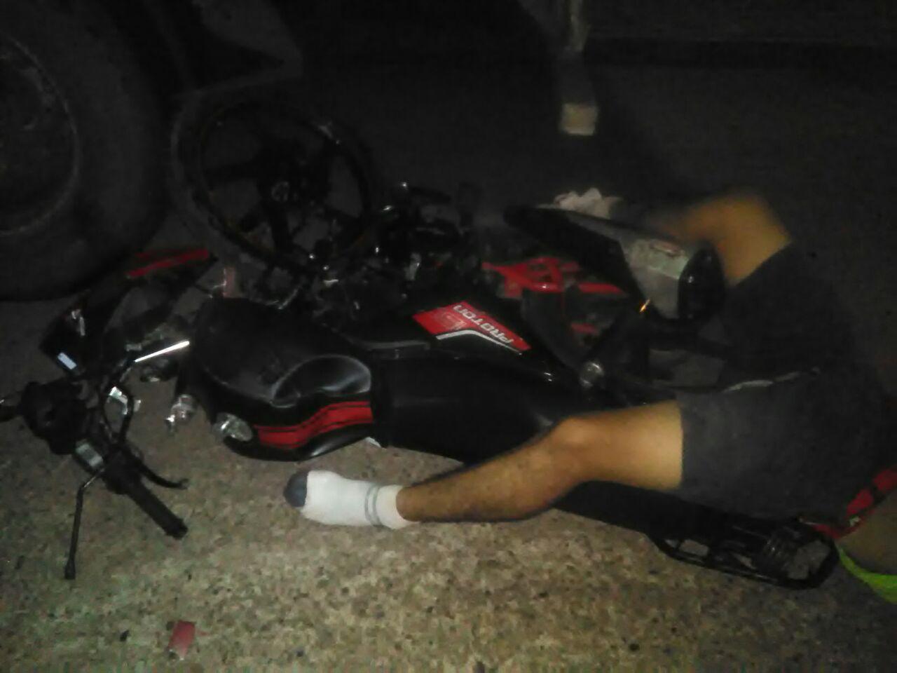 Se estampa con su moto en Loma Bonita | El Imparcial de Oaxaca
