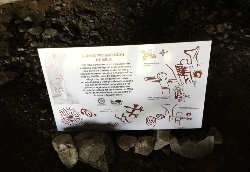 Cuevas prehistóricas, la oferta comunitaria de Mitla para turistas