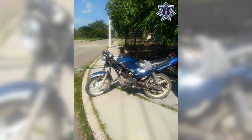 Lo detienen con moto robada en el Istmo de Tehuantepec | El Imparcial de Oaxaca