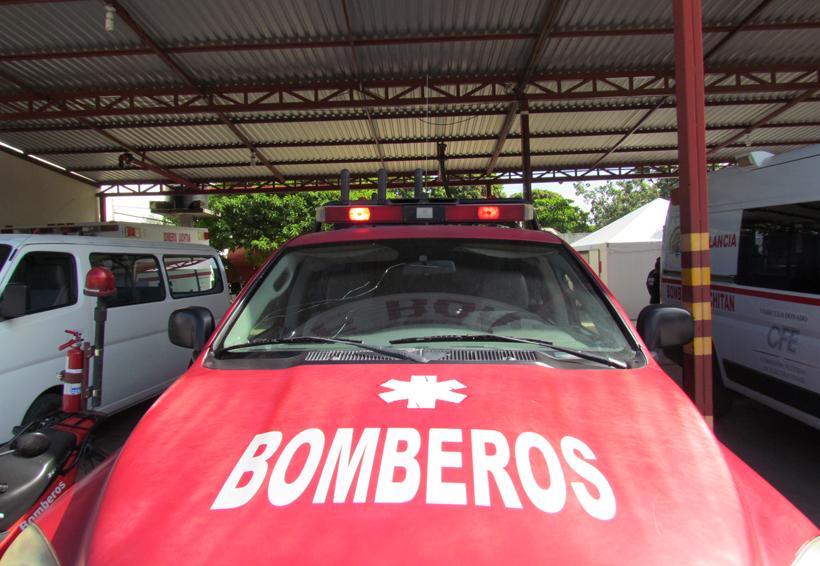 Juchitán homenajea a Bomberos de Tultepec