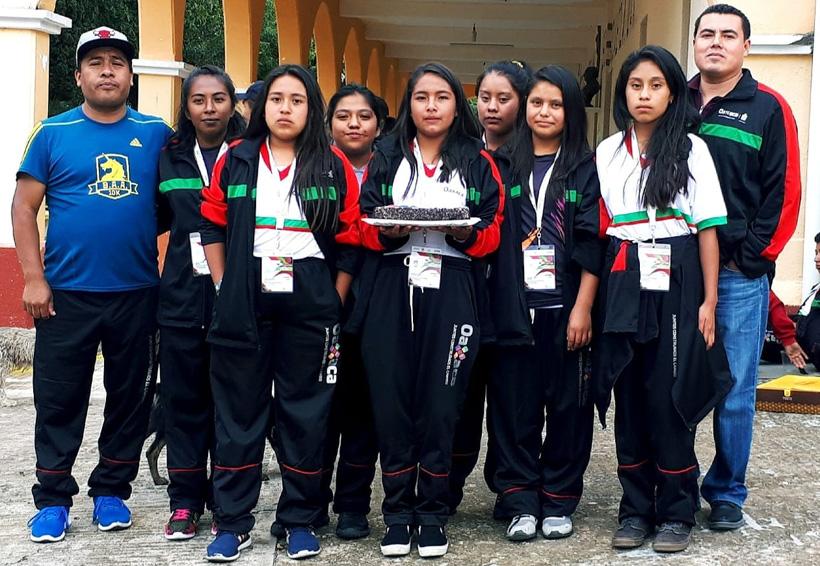Oaxaca entre los cinco mejores en Juegos Nacionales Populares