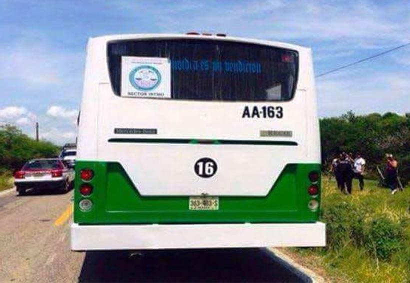 Asaltan a pasajeros en autobús de Unión Hidalgo   El Imparcial de Oaxaca