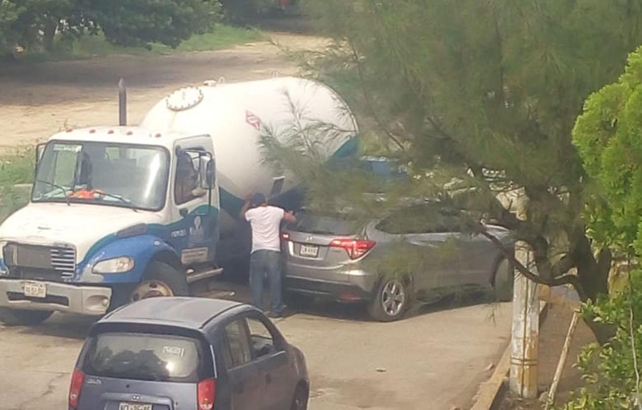 Incidente de tránsito en Salina Cruz | El Imparcial de Oaxaca