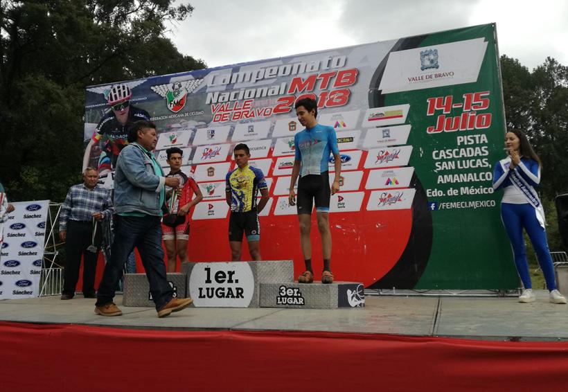 Diego Martínez orgullo oaxaqueño en ciclismo de montaña