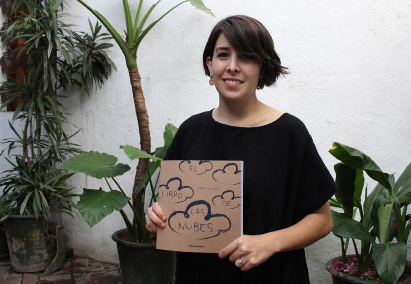 """María Ramos crea """"el libro de las  nubes (para dibujar)"""""""