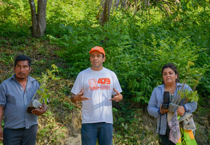 Niños de la Costa participan en reforestación