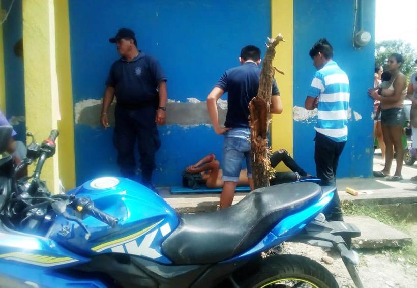 Derrapa su motocicleta en Unión Hidalgo. | El Imparcial de Oaxaca