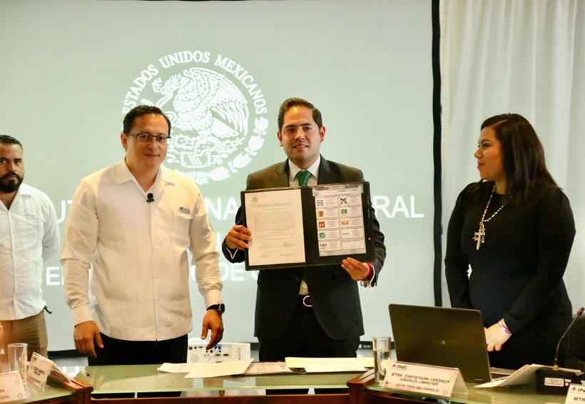Entrega INE constancias  a tres senadores electos de Oaxaca | El Imparcial de Oaxaca