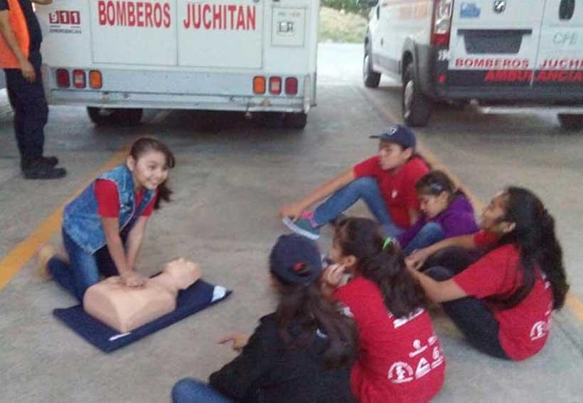 Realizarán el curso Mini Bomberos en Juchitán