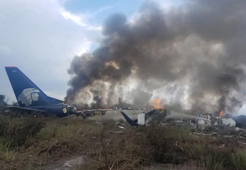 Se desploma avión de Aeroméxico en Durango | El Imparcial de Oaxaca