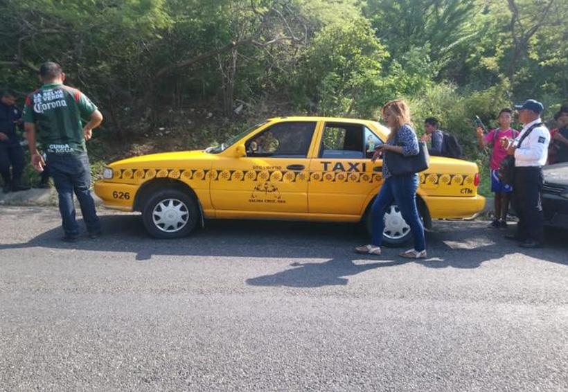 Imprudente taxista  provoca accidente | El Imparcial de Oaxaca