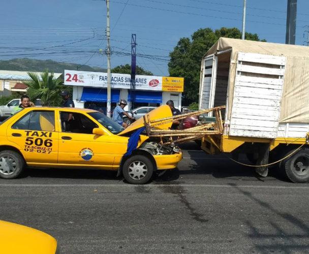Taxistas del Istmo provocan gran parte de los accidentes