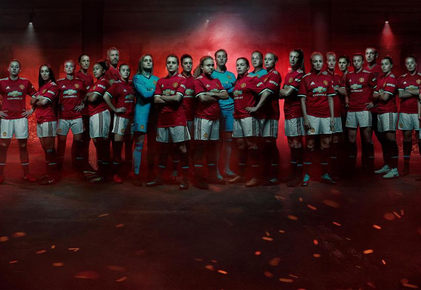El equipo femenil del Manchester United | El Imparcial de Oaxaca