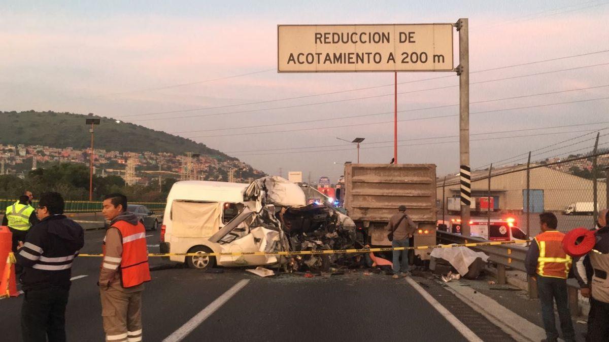 Al menos 12 muertos por trágico choque en la autopista México-Pachuca. Noticias en tiempo real