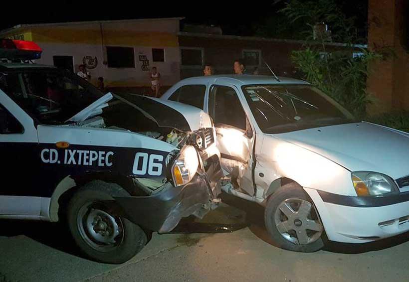 Imprudentes policías generan accidente en Ixtepec | El Imparcial de Oaxaca