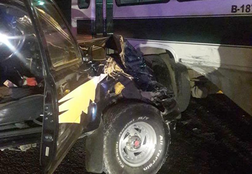 Fuerte accidente en Riberas del Atoyac | El Imparcial de Oaxaca