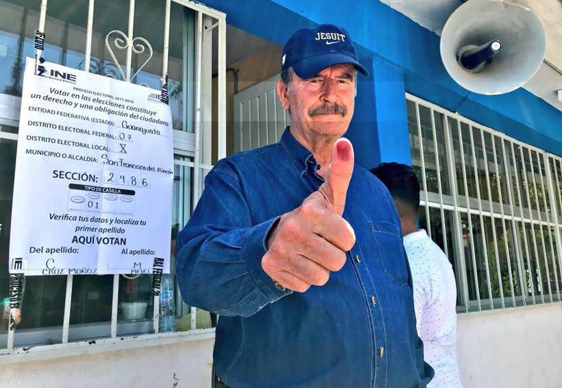 Por el bien de México, sí renunciaría a mi pensión: Fox | El Imparcial de Oaxaca