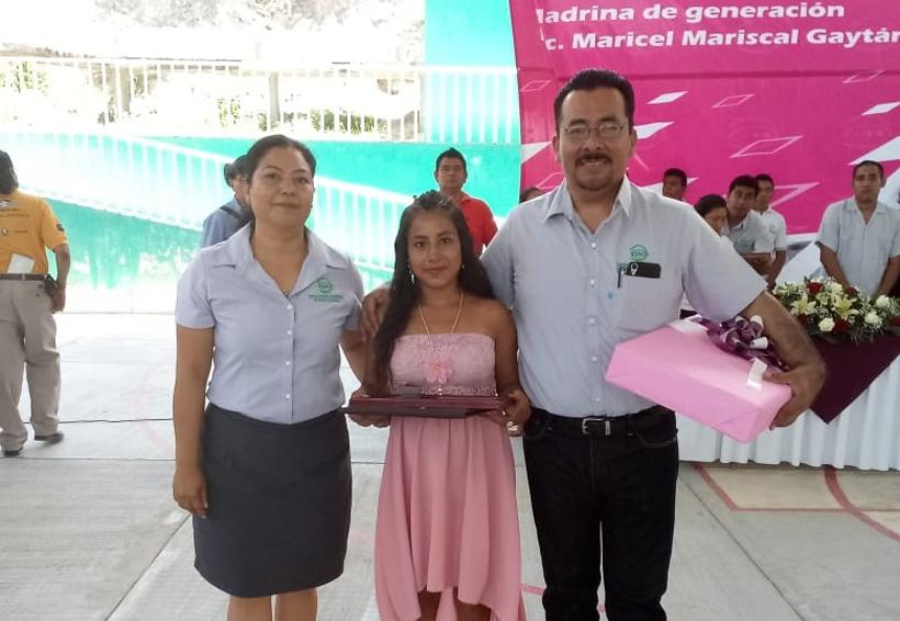 Érika Guadalupe  se gradúa. Noticias en tiempo real