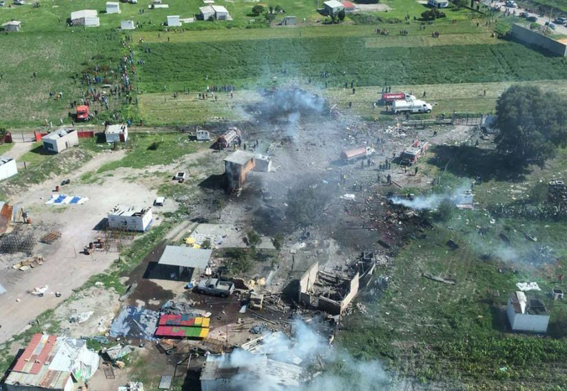 Ya suman al menos 19 muerto por explosión de pirotecnía en Tultepec, Estado de México | El Imparcial de Oaxaca