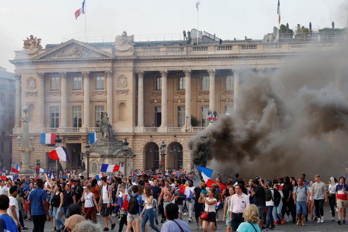 Casi 300 detenidos por celebración mundialista en Francia | El Imparcial de Oaxaca
