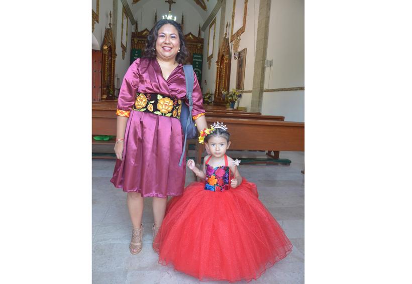 La pequeña Saori García celebró su cumpleaños número 3