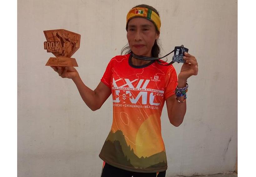 """""""Lichita"""" es cuarta en Ultramaratón de Guachochi"""