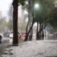 Pronostican fuertes lluvias con granizo en varias partes del país