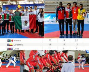 Mexico lidera el medallero de Barranquilla 2018