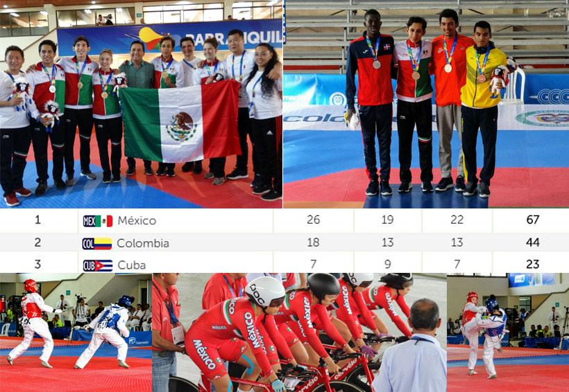 Mexico lidera el medallero de Barranquilla 2018 | El Imparcial de Oaxaca
