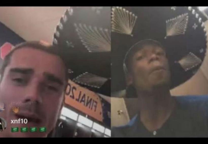 Video: Pogba y Griezmann celebran a la mexicana y mandan saludos a Carlos Vela. Noticias en tiempo real