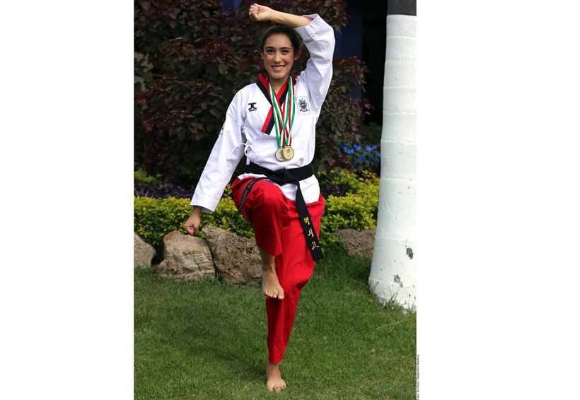 Daniela Rodríguez brinda el primer oro