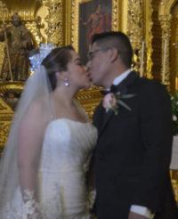 Daniel y Lluvicela decidieron unirse en matrimonio