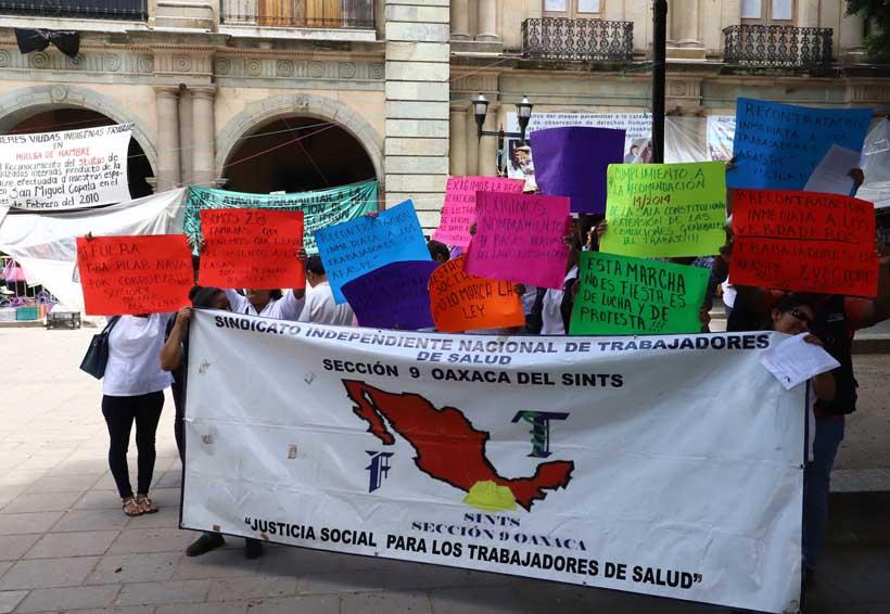 Acusan agresión de funcionarios de la Secretaría de Salud de Oaxaca | El Imparcial de Oaxaca