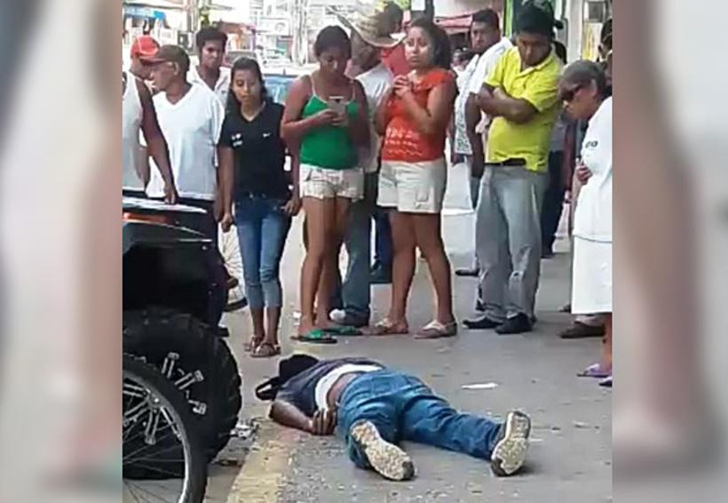 Le dan muerte a plena luz del día en calles de Tuxtepec | El Imparcial de Oaxaca
