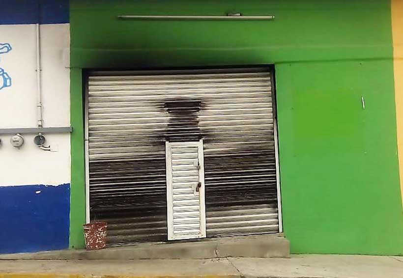 Se incendia taller de electrónica | El Imparcial de Oaxaca